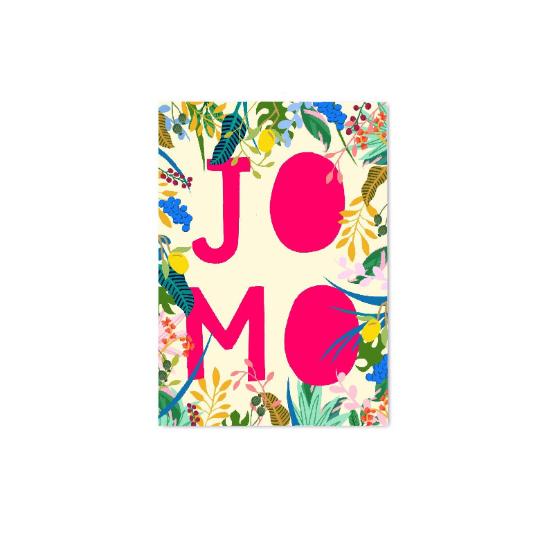 JOMO (Joy Of Missing Out) Postcard