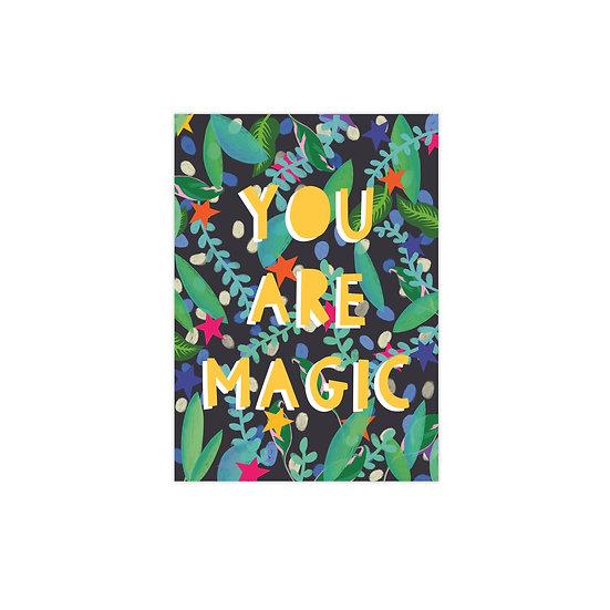 You are Magic Postcard