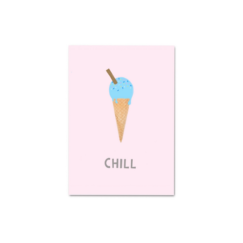 12 pack- Chill Postcard