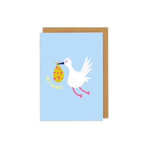 Hey Baby Greetings Card