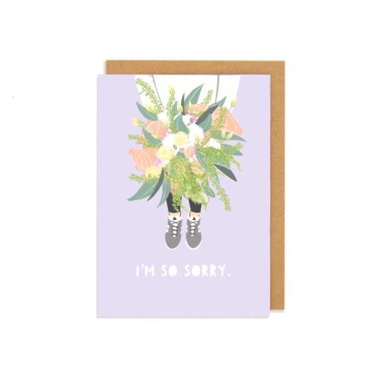 Im so Sorry Greetings Card