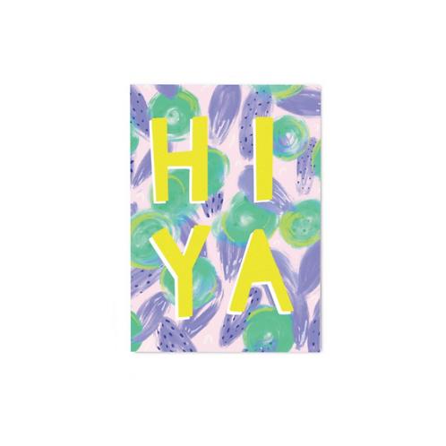 Hiya Postcard