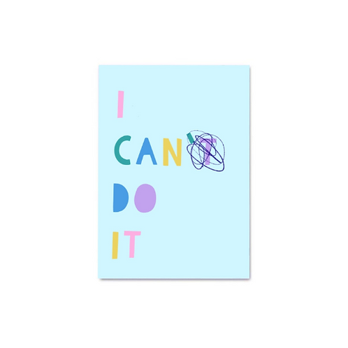 I Can Do It Digital Print A3/A4