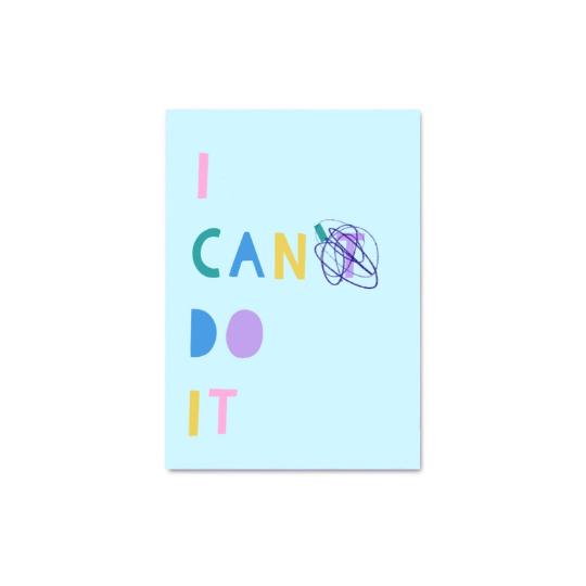 I Can Do It Digital Print A3/A4