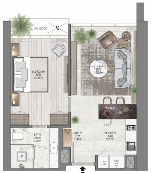 A1 - 1Br, 624sf, 58sm.png