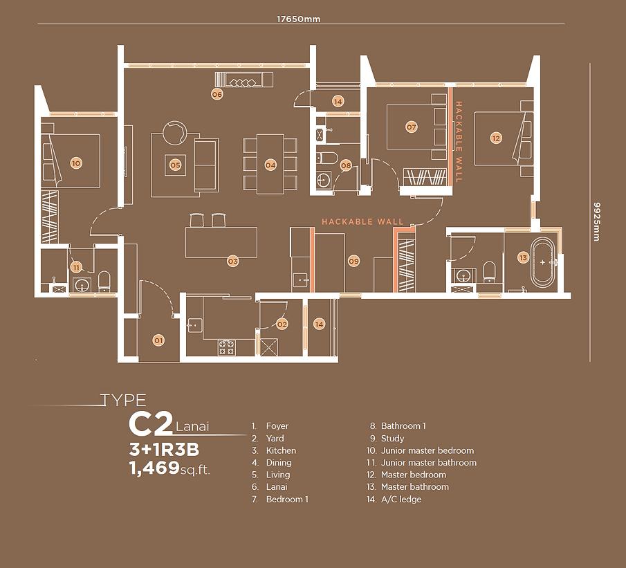 C2 3+1B3B Lanai 1,469 sqft.png