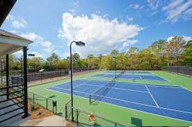 Club House, Tennis Court