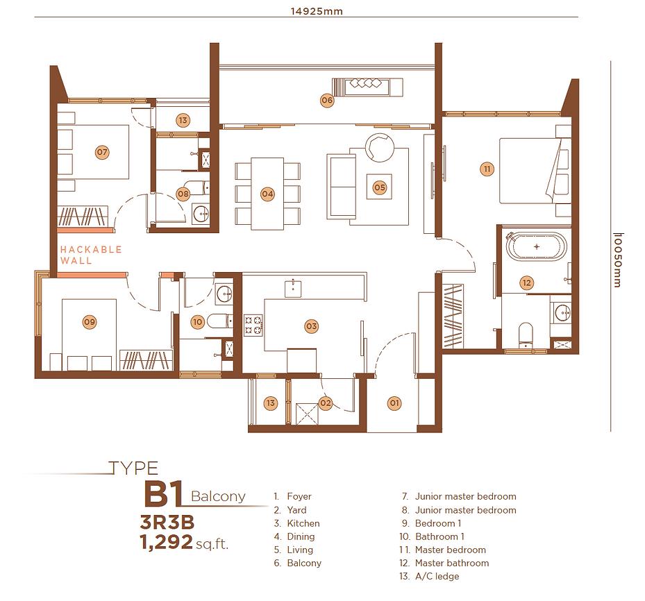 B1 3B3B Balcony - 1,292 sqft.png