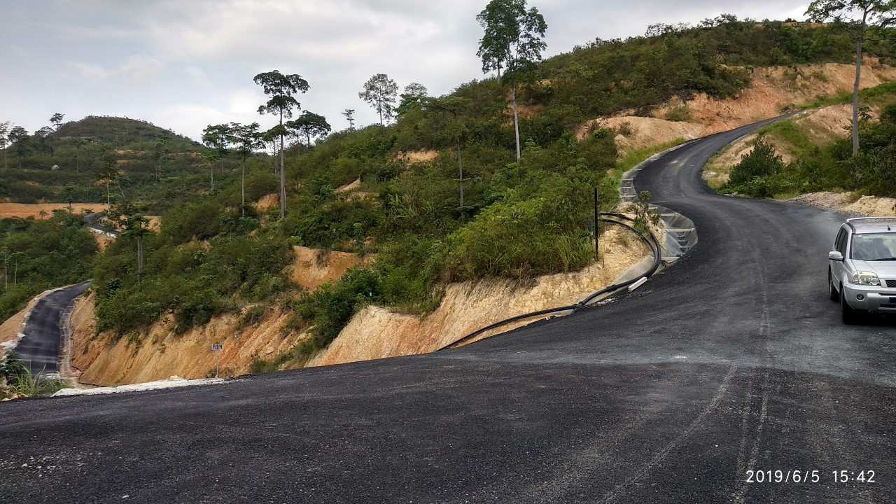 Road and drainage