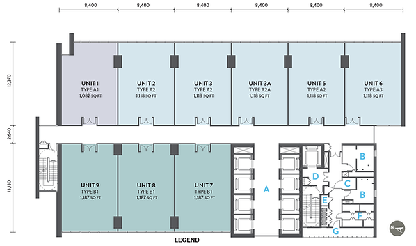 The Stride Typical floor Plan