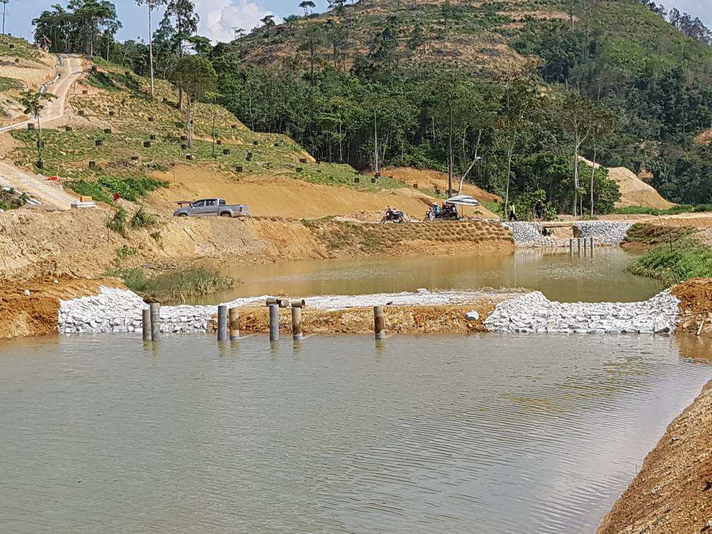 Fresh water catchment