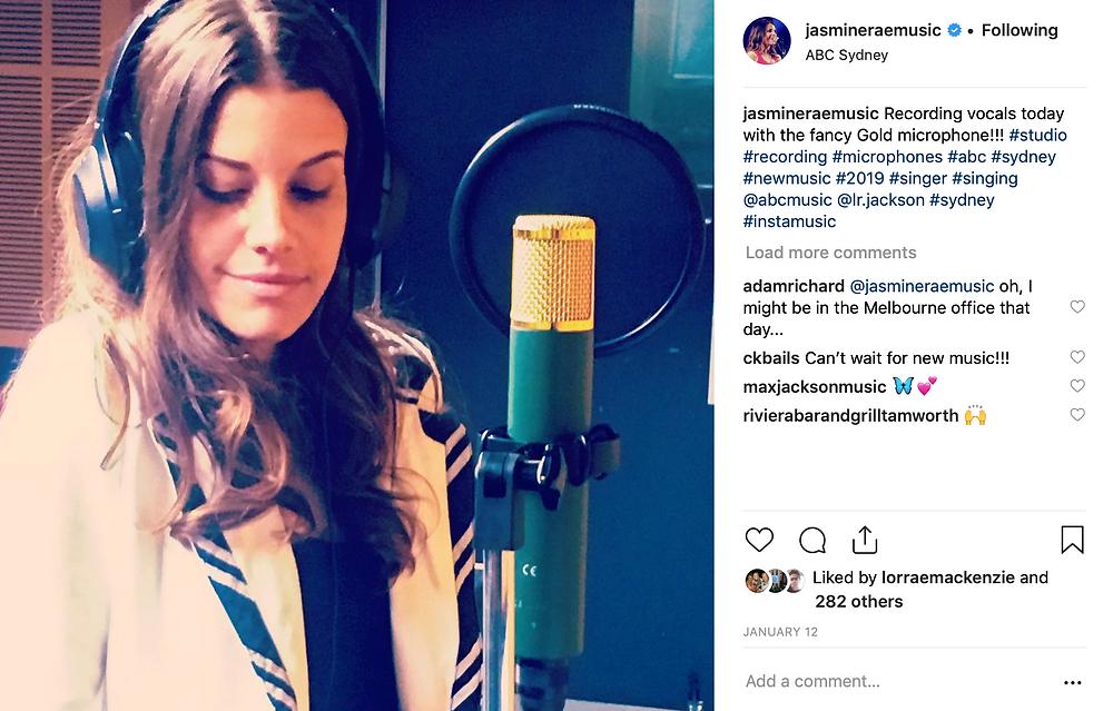 Jasmine Rae ABC Studios 2019