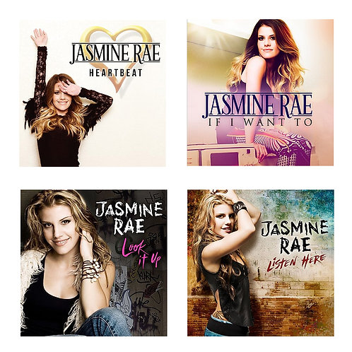 4 ALBUM SUPER PACK! (4 CDs) ** Personally Signed **
