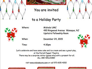 You're Invited: Holiday Party!