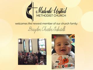 Welcome Brayden Charles Sabatelli!