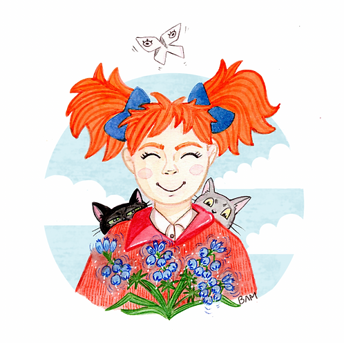 Mary and the Witch's Flower Print