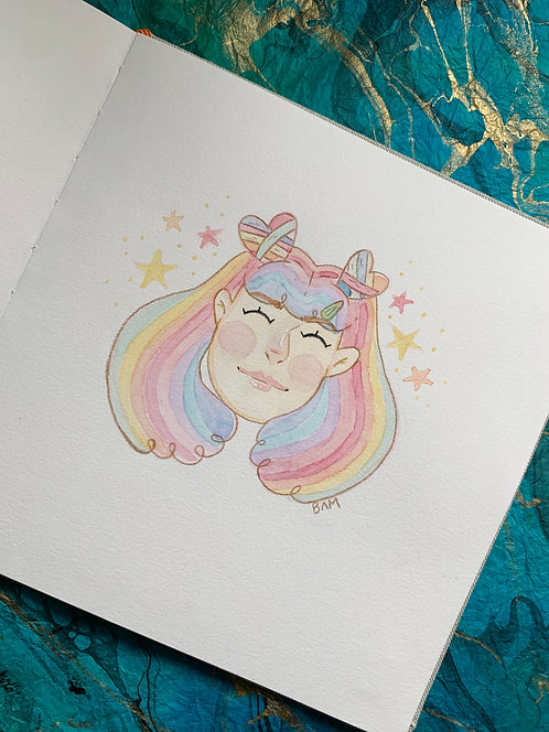 Rainbow Girl Original