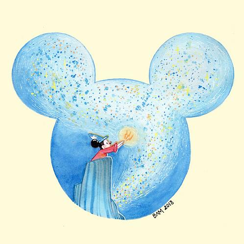 Sorcerer Mickey Print