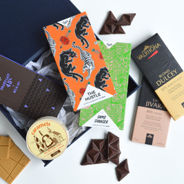 luxury-chocolate-gift-hamper-australia-valrhona-dulcey-blond-chocolate-jivara-michel-cluizel-45%-hey-tiger