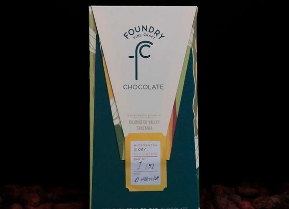 Foundry Chocolate - Kilombero Valley, Tanzania 70%