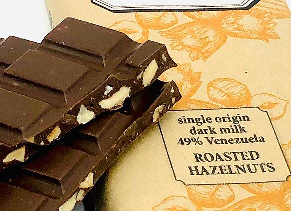 Pain et Chocolat - Roasted Hazelnut - 49% Milk