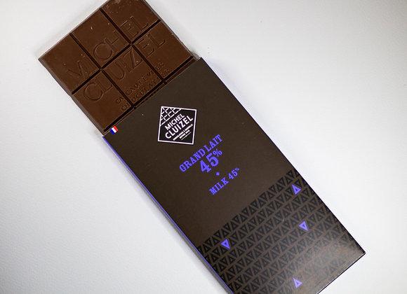 Michel Cluizel Grand Lait 45% - Milk Chocolate
