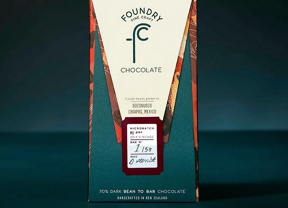 Foundry Chocolate - Soconusco, Chiapas, Mexico 70%