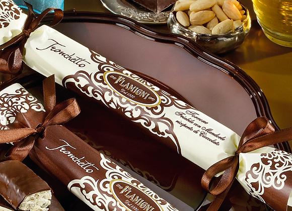 Flamigni - Soft Almond Nougat - Chocolate Coated