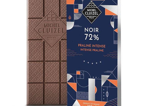 Michel Cluizel Noir 72%   Intense Praline