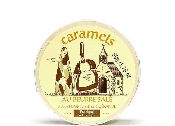 La Maison d'Armorine | Salted Butter Caramels Wooden Box
