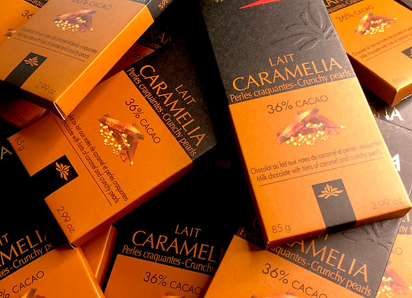 Valrhona - Caramélia Milk & Crunchy Pearls 36%