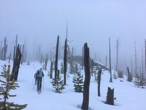 Three Fingered Jack: Winter Ascent