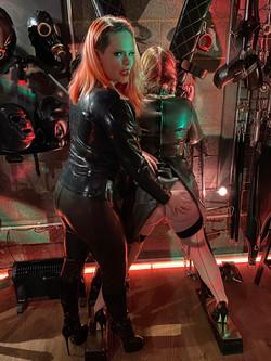 Girl on girl spanking