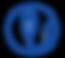 USB Battery charging logo bleu.png
