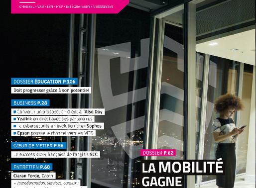 Naotic et son équipe à l'honneur dans le magazine EDI !