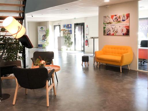 Naotic vient d'inaugurer ses nouveaux locaux dans la périphérie Nantaise !