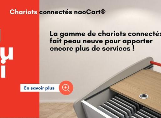 Nouveau design pour la gamme naoCart®