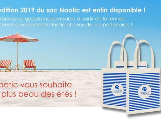 L'édition 2019 du sac Naotic est disponible !