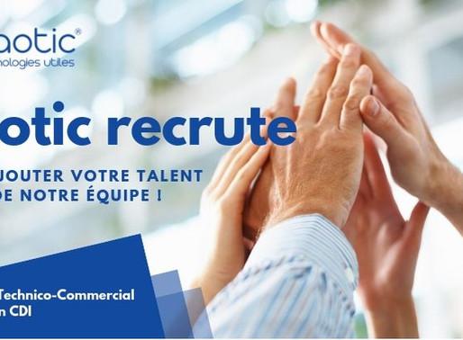 Naotic recrute : venez ajouter votre talent à ceux de notre équipe !