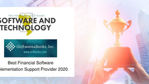 iS4B Awarded 'Best Financial Software Implementation Support Provider 2020'