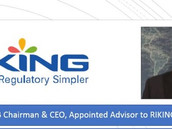 Vincent Raniere, iS4B Chairman & CEO, Appointed Advisor to RIKING Board of Directors