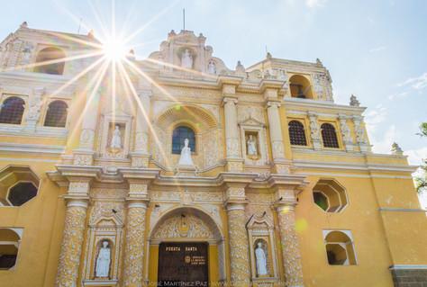 Una fachada que enamora, Iglesia La Merced | Guatemala