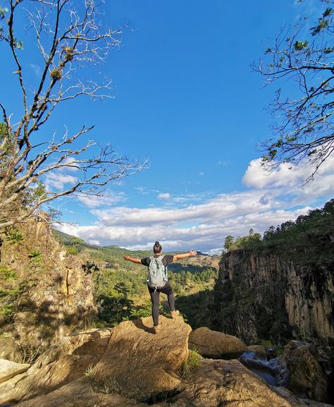 Que fortuna encontrar la Cascada La Fortuna