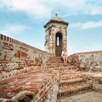 Castillo San Felipe de Barajas en Cartagena de Indias