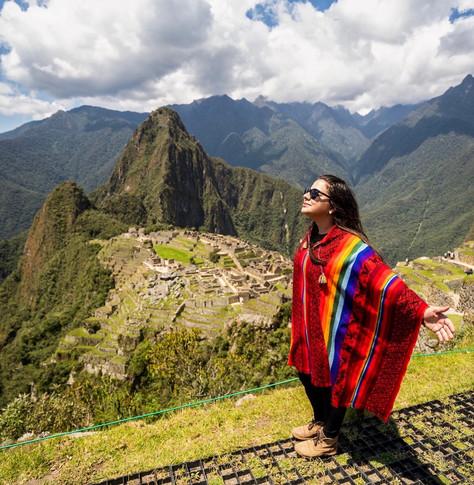 Conociendo una de las maravillas del mundo, Machu Picchu