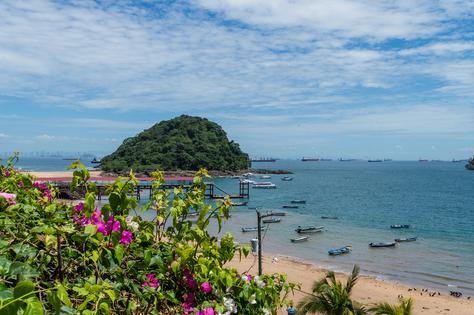 La encantadora Isla de las Flores, Isla Taboga | Panamá