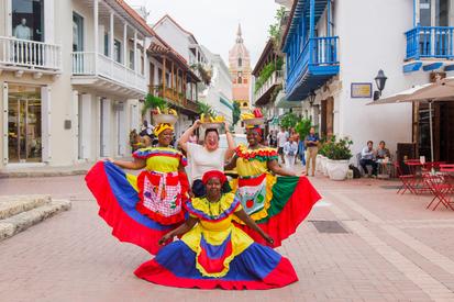 Ciudad Amurallada en Cartagena, magia en cada esquina
