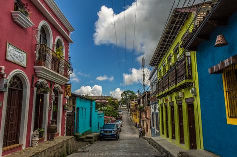 Timbeando en Santa Rosa de Copán