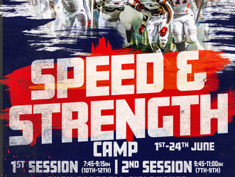 2021 Speed and Strength Camp Registration