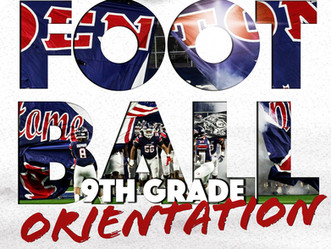 Zoom: 9th Grade Orientation Meeting for 2021